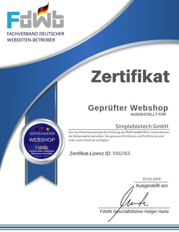 FdWB-Kontrollzertifikat_1002163_Simplebiotech-GmbH